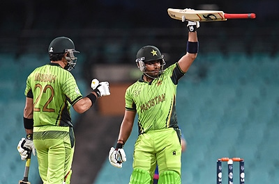 Pakistan must utilise players like Umar Akmal at the right position in the batting order. — AFP