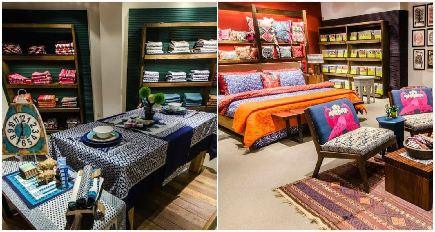 Bed And Table Covers At Khaadi Home.u2014 Photo Courtesy: