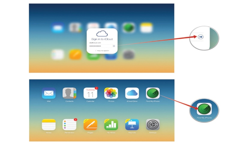 how to go into icloud on your iphone