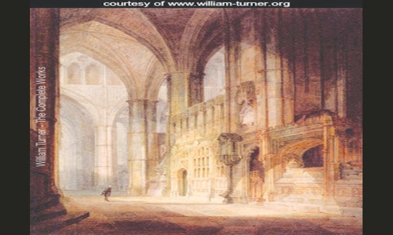 St Erasmus In Bishop Islips Chapel, Westminster Abbey (1796)