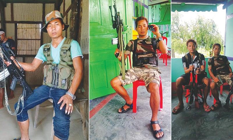 NDFB (S) Platoon Commander late B. Jwblang
