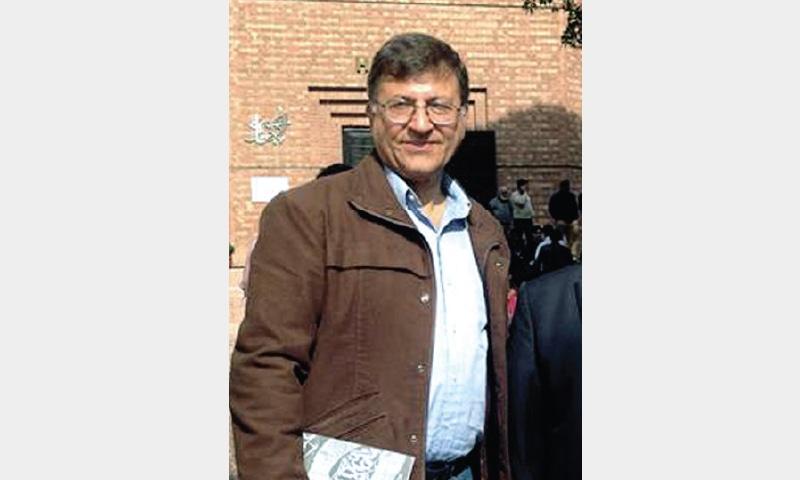 Pervez Hoodbhoy. — White Star