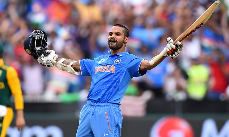 Dhawan dines out on tamed South Africa attack