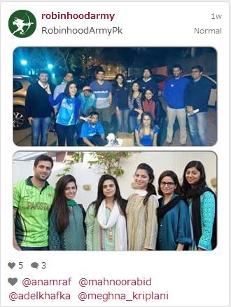 Pictured: Organisers and volunteers in Karachi. Photo: Instagram
