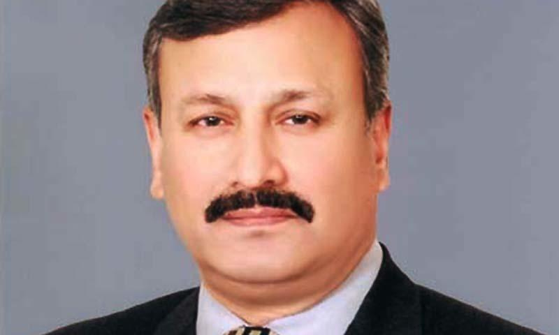 DG ISI Lt Gen Rizwan Akhtar. -PPI/file