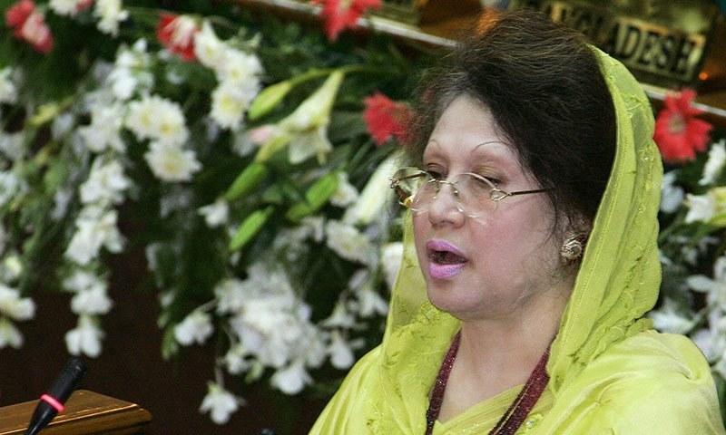 Bangladesh opposition leader Khaleda Zia. — AFP