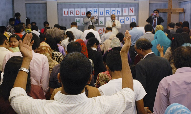 In this Jan. 18, 2015, photo, Pakistani refugees and asylum-seekers who fled persecution in their homeland worship at an Urdu-speaking church on the outskirts of Bangkok, Thailand. — AP