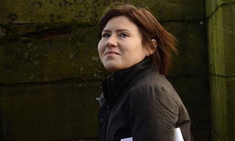 روسی صحافی ماریہ گلوونینا—رائٹرز فائل فوٹو۔