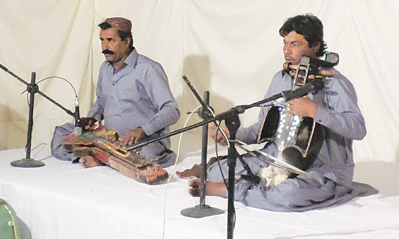 The evening also included a musical programme with performers from Sindh and Austria.