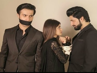 Rameen (Sajal Ali) is subjected to rape just before her wedding to Azar (Feroz Khan) which is a conveniently arranged match between two families. —Publicity photo