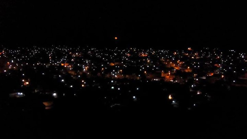 Mithi at night.