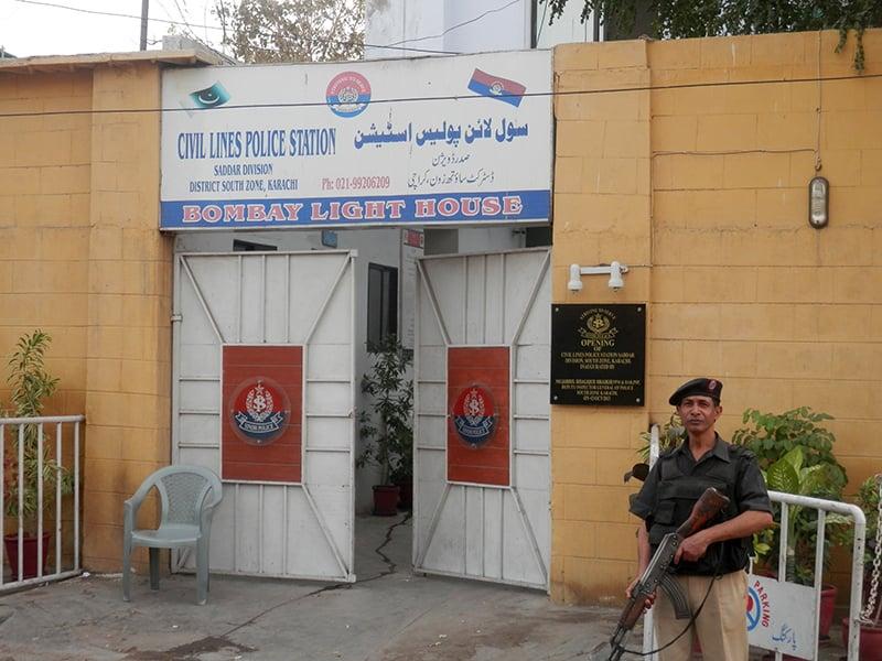 سول لائنز پولیس اسٹیشن جو جم خانہ کے رقبے پر قائم ہے۔