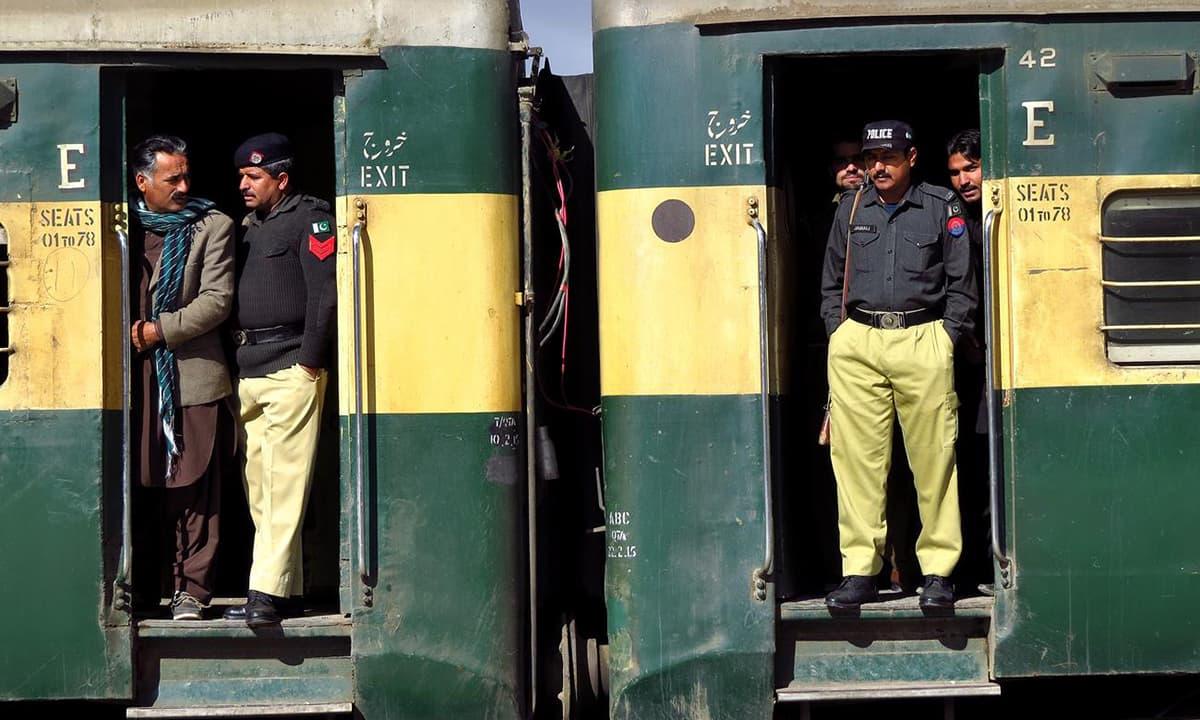 Railway station, Quetta.