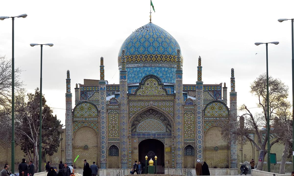 Shrine in Qazvin, Iran