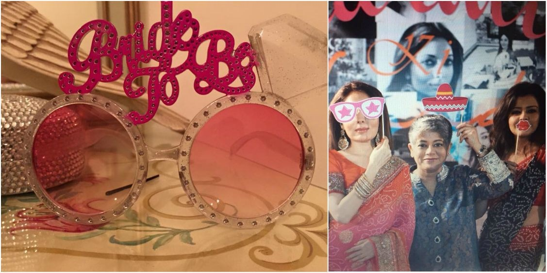 'Bride to be!' sunnies and other trinkets. — Photo courtesy Sharmila Farooqi
