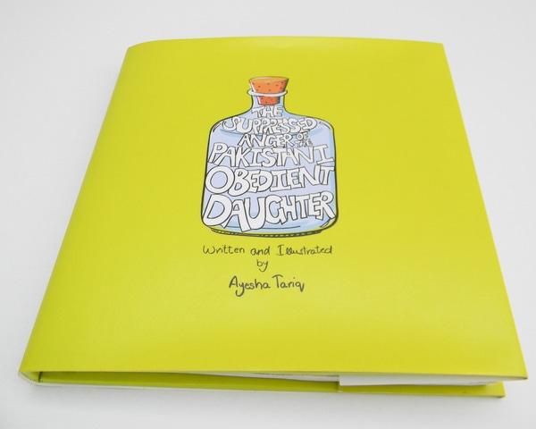 The book's cover page. — Photo: Ayesha Tariq