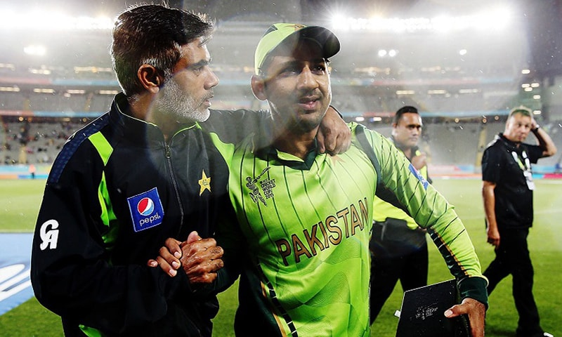 Sarfraz Ahmed was Man of the Match. —ICC