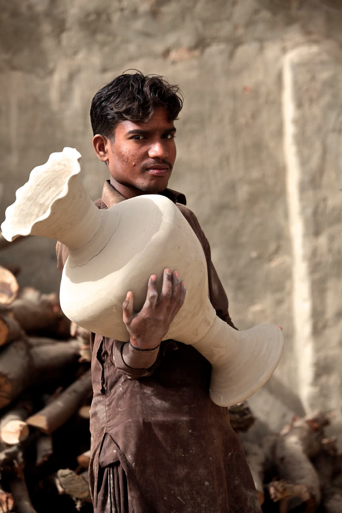 For over a century, generation after generation of 'Kashigars' have been moulding, shaping, painting, and making fire glazed tiles and earthenware.
