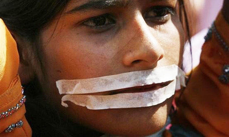 The only appropriate commemoration is an illustration, through some women, how all Pakistani women, are suspended.—Reuters