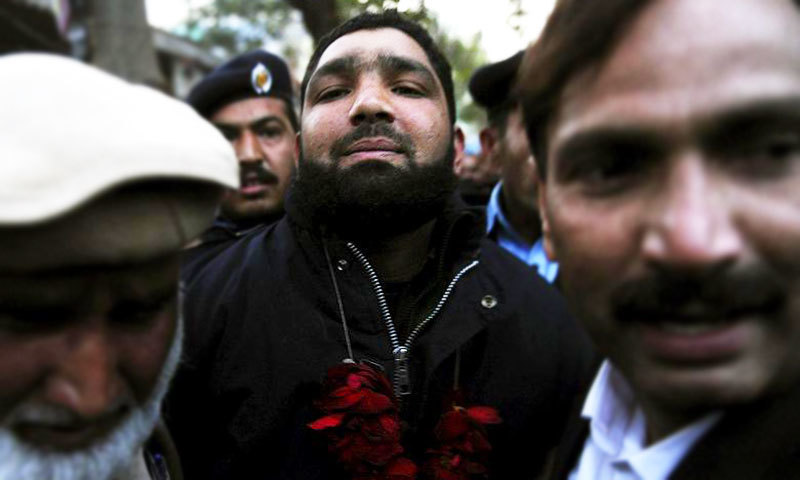 IHC upheld the death penalty against Mumtaz Qadri but accepted his application to declare Section 7 of the ATA void. — Reuters/File