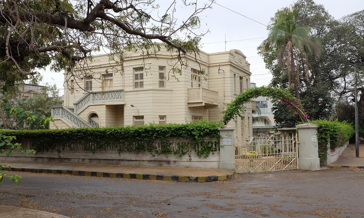 Parsi Colony on MA Jinnah Road.