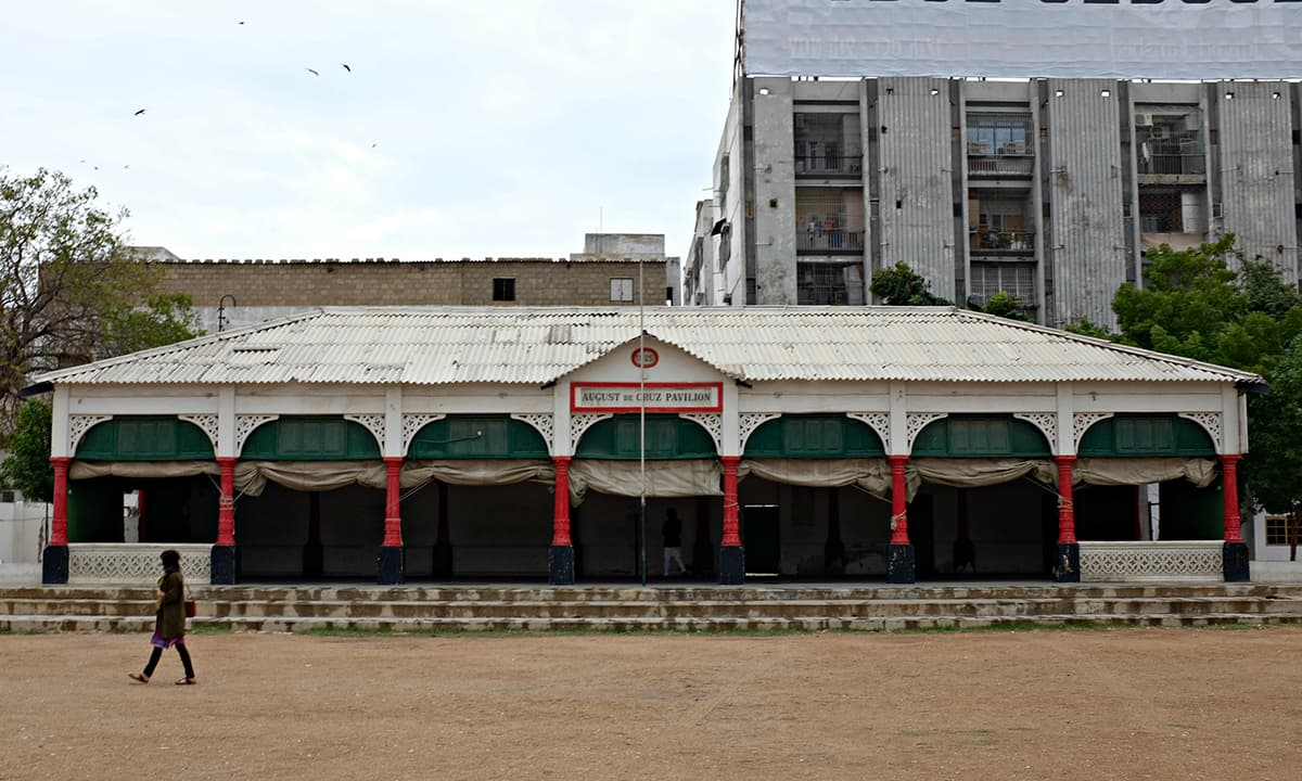 The Karachi Goan Association Cricket ground has been one of the earliest cricket grounds in the city and has been host to many domestic matches.