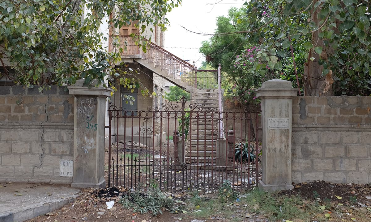 Parsi Colony has one of the oldest pre-partition houses.