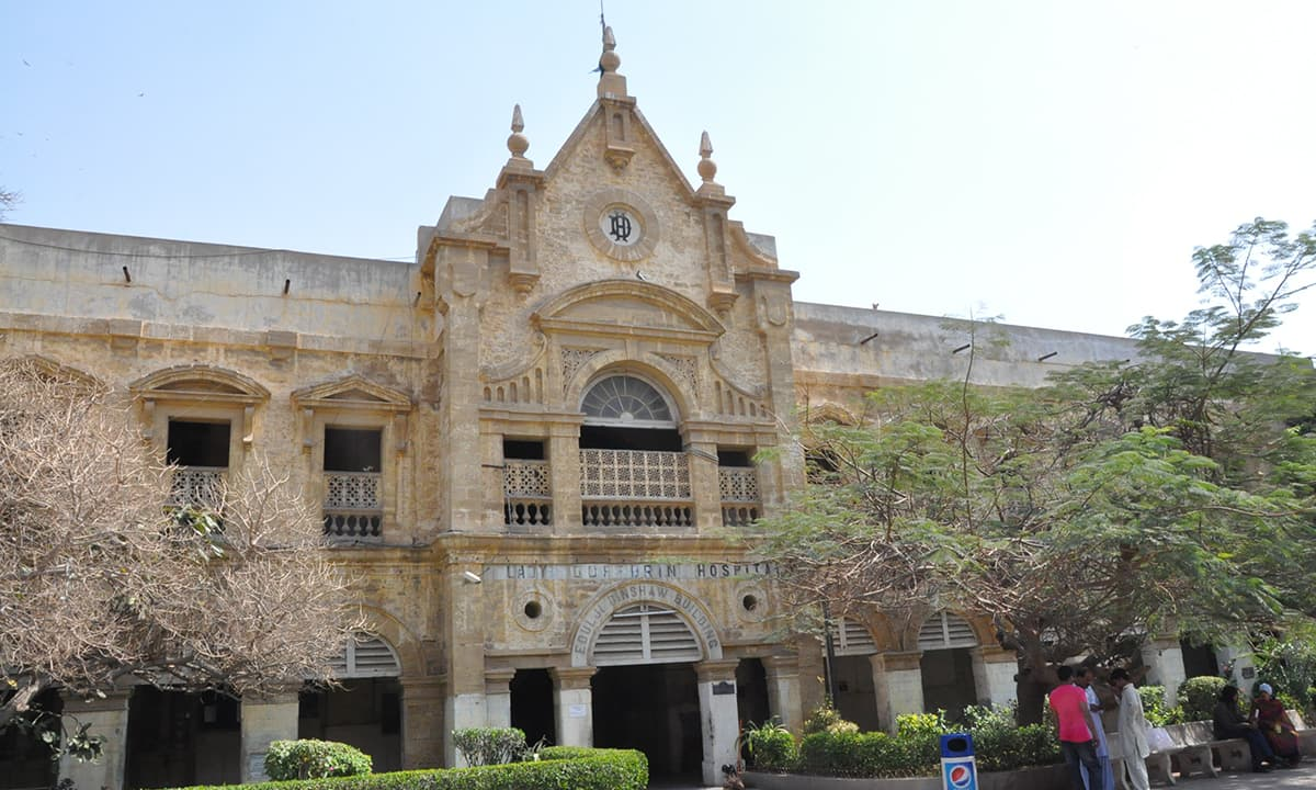 Lady Dufferin hospital building.