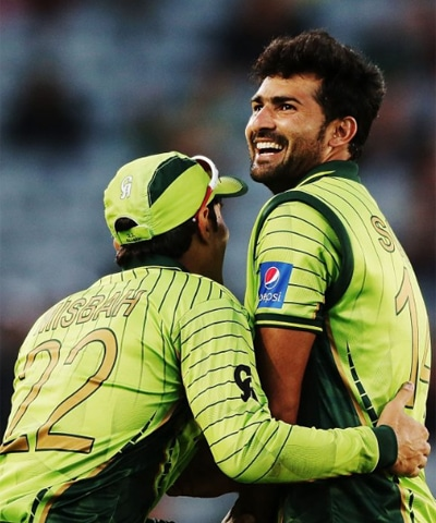 Surprise pick Sohail Khan has picked up keys wickets for Pakistan. — Photo courtesy ICC
