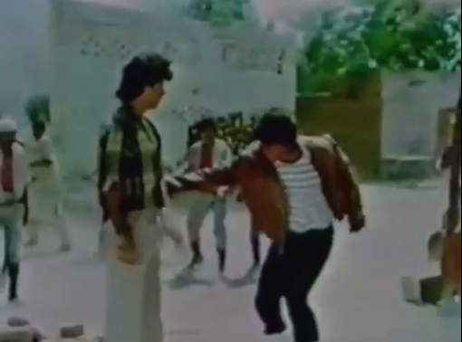 Shanee in a fight sequence — Screen grab from Shanee