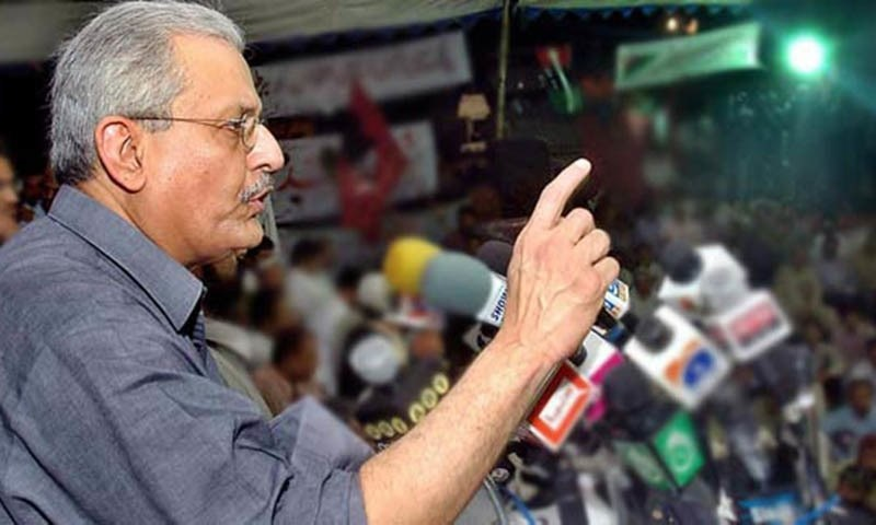 """Mr Rabbani expressed the resolve that he would make parliament an """"effective"""" institution.—APP/File"""