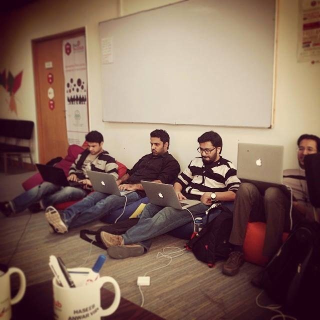 Not your ordinary geeks with Macbooks, this is the Patari team revolutionising Pakistani music - via Facebook