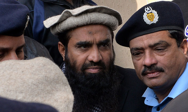 The IHC on Friday ordered Lakhvi's release due to lack of evidence drawing sharp criticism from New Delhi. — AFP/File