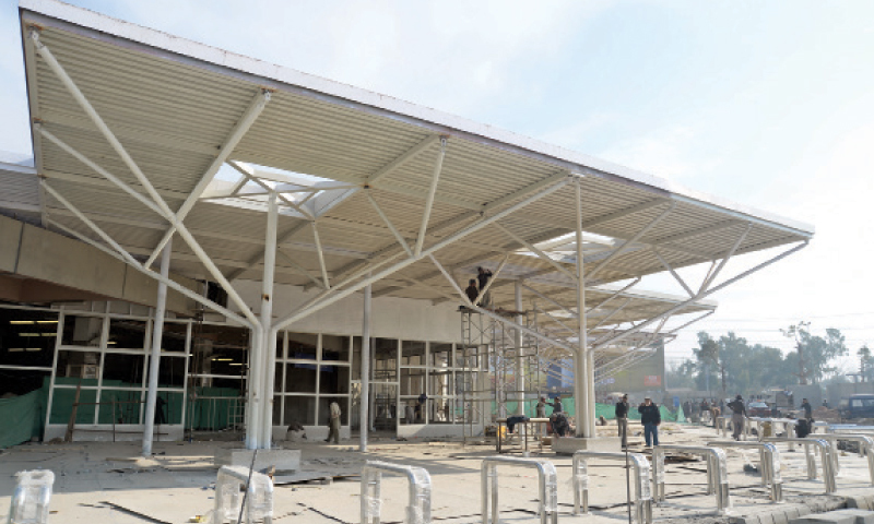 Islamabad airport is getting a facelift with improved facilities for citizens. — Dawn/File