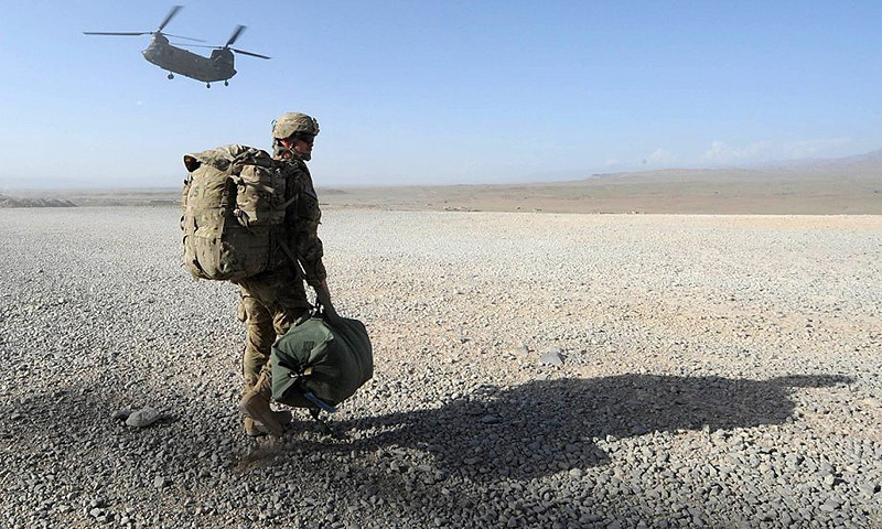 While no final decision on numbers has been made, the officials said the administration is poised to slow withdrawal plans and probably will allow many of the 9,800 American troops to remain well into next year. — AFP/file