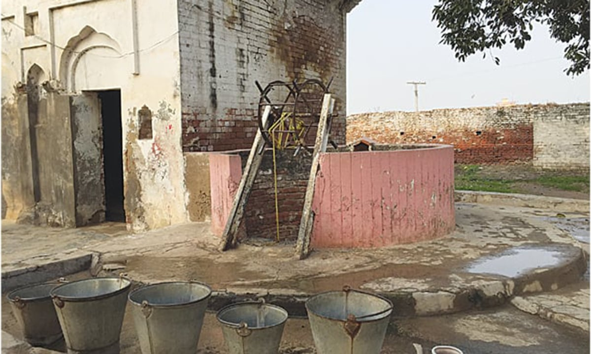 Puran's Well outside Sialkot city.
