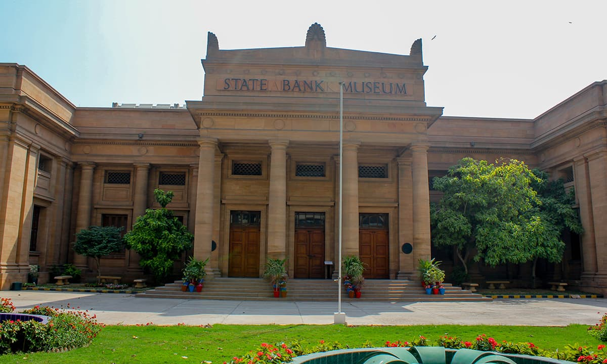 The State Bank Museum building which was previously the Imperial Bank of India.— Muhammad Umar