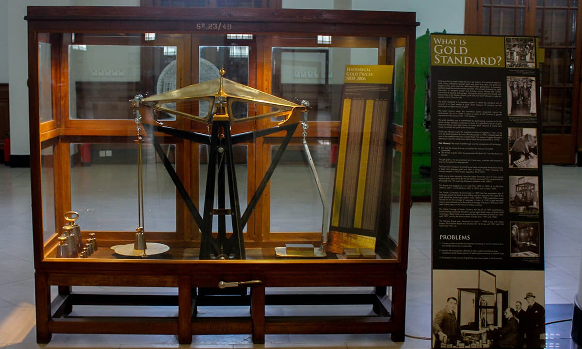 A gold weighing machine used in the British era.— Muhammad Umar