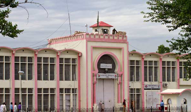 A view of the Adiala jail in Rawalpindi where Ayyan is being held as a category B inmate. —AP/File