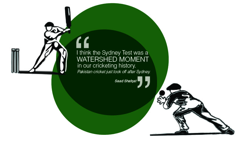 Saad Shafqat talks about the iconic 1977 Test Match played between Pakistan and Australia — Illustration by Zehra Nawab