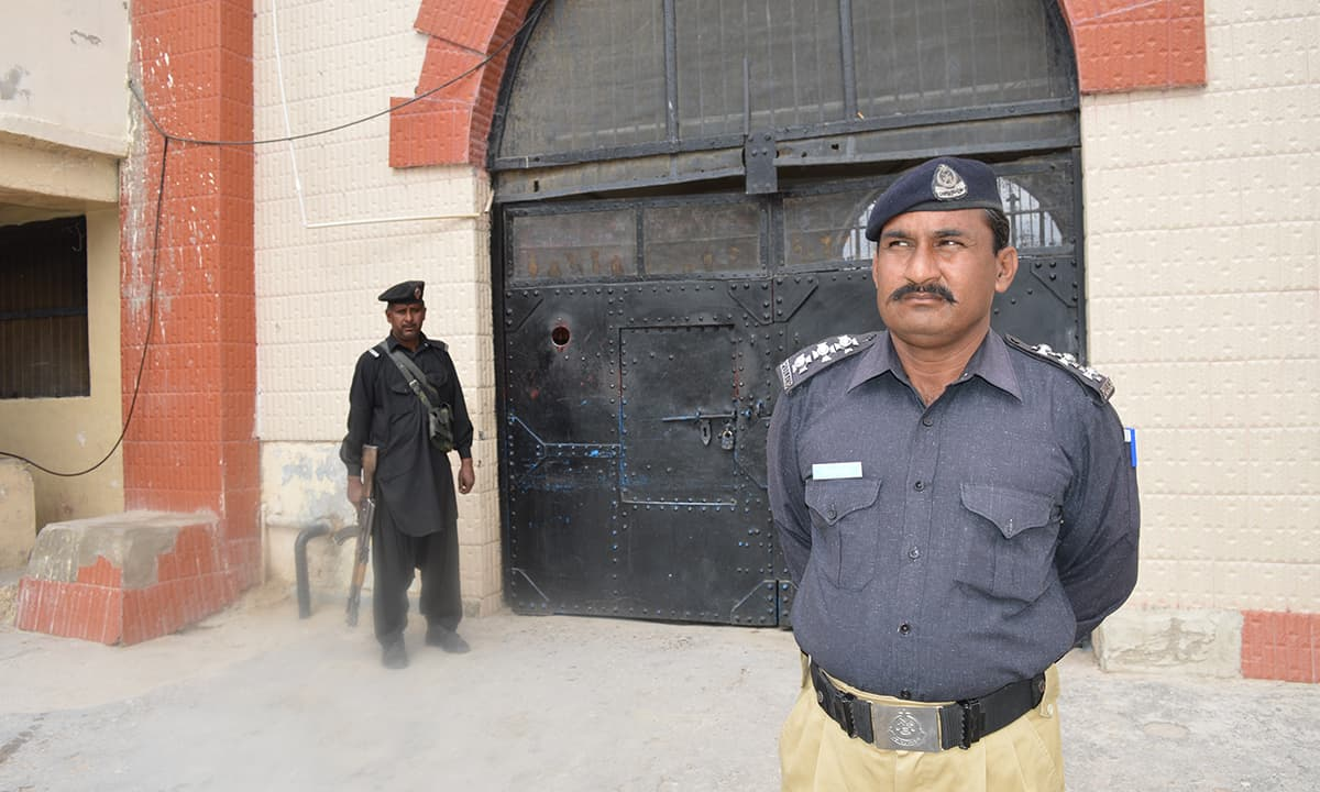 Security has been beefed up at the jail  — Mehmood Khan Hamdard
