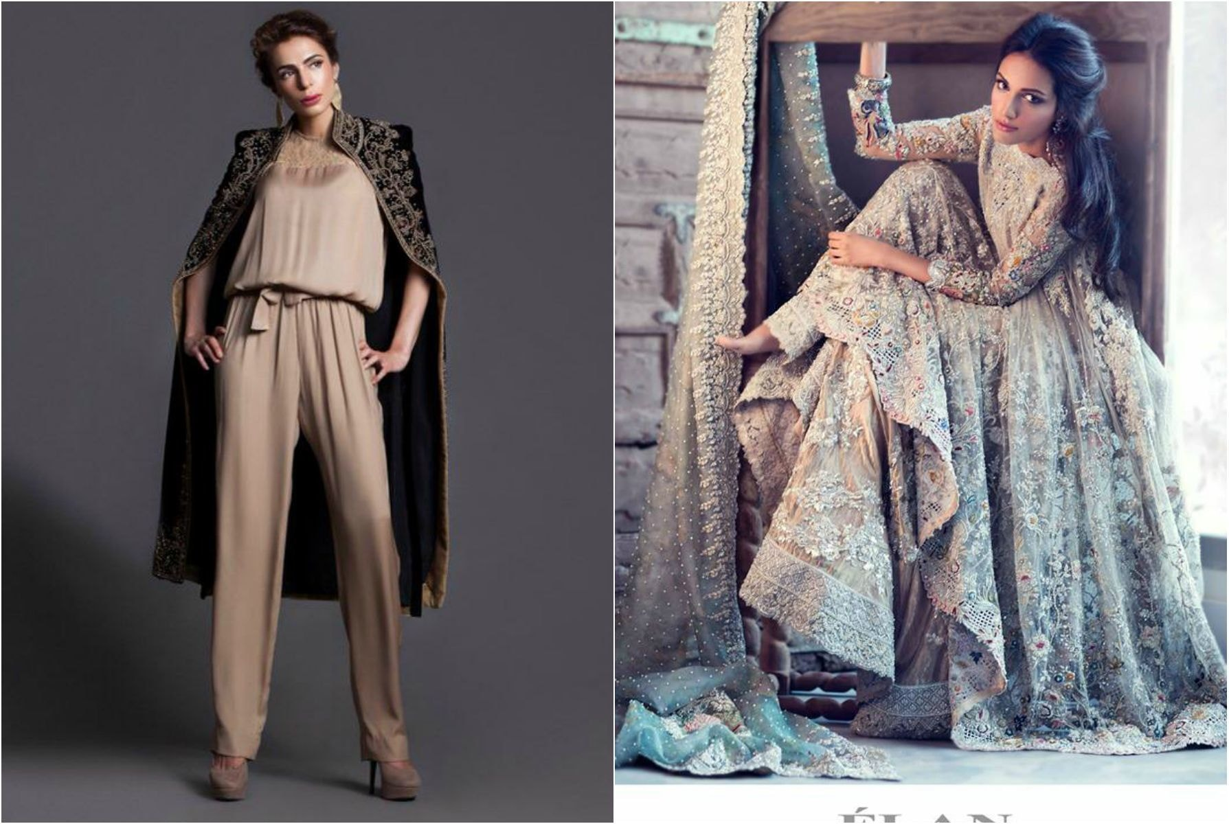 From L-R: Sublime F/W Collection and Meera Ansari for Elan.