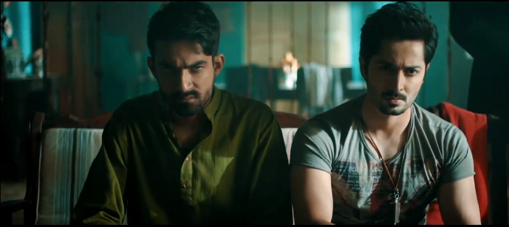 Ali Safina and Danish Taimur in a scene from 'Jalaibee'.