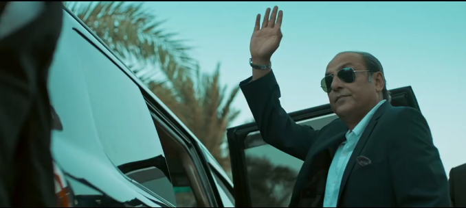 Sajid Hasan as the mafia boss in 'Jalaibee'