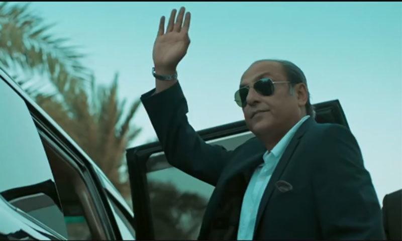 ساجد حسن فلم میں مافیا باس کے کردار میں