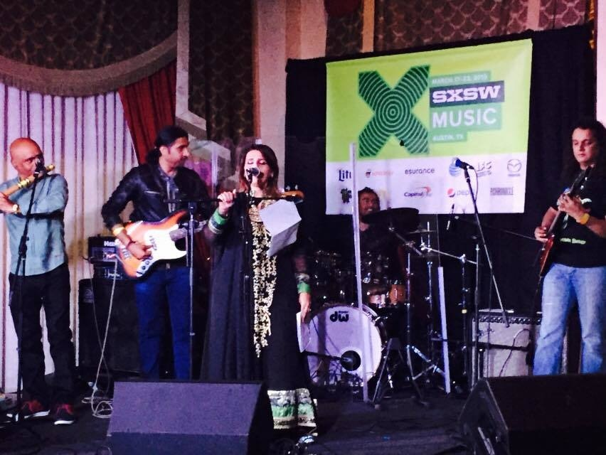 Meekal Hassan Band at SXSW. —Photo courtesy: Meekal Hassan Band's Official Facebook page.