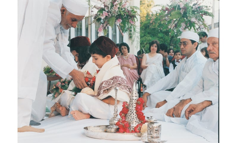 All about the kids: a traditional Parsi birthday ceremony / Photo by  White Star