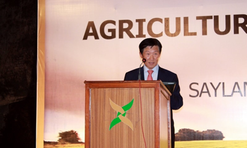 Korean Ambassador Dr Jong Song Hwan said it is a matter of concern that Pakistani exports to Korea were declining. Photo Courtesy: Embassy of Republic of Korea to Pakistan website