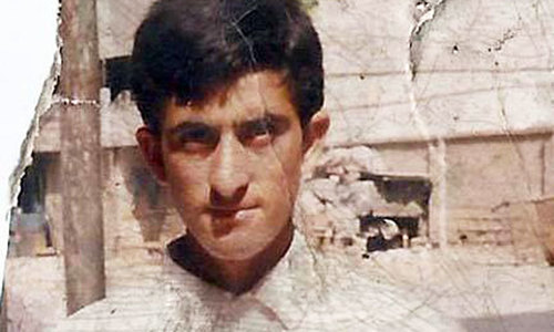 Shafqat Hussain was said to be 14 years old at the time of his conviction. - via Justice Project Pakistan