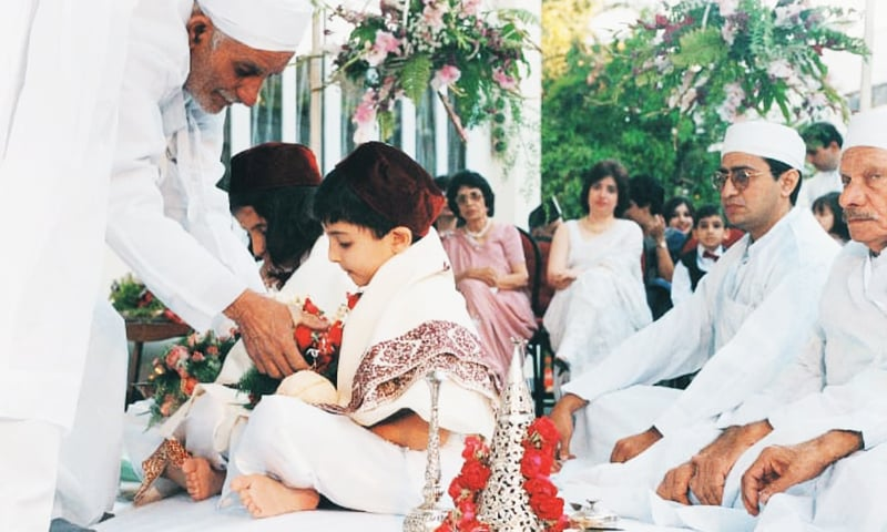 All about the kids: a traditional Parsi birthday ceremony / Photo by  White Star.